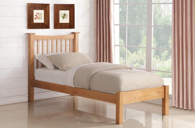 Giường 1m gỗ tự nhiên