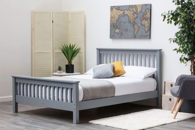 Giường gỗ MDF 1m x 2m