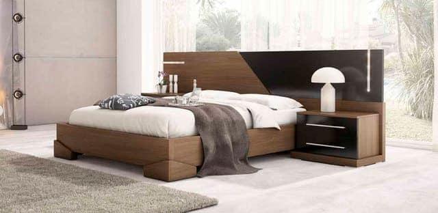 Giường gỗ MDF phủ Melamine
