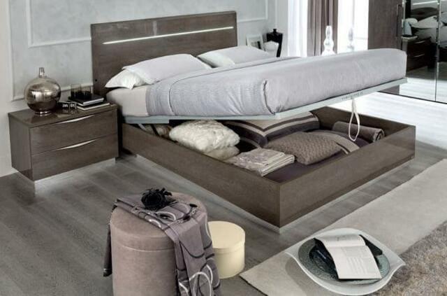 Giường gỗ công nghiệp Letto