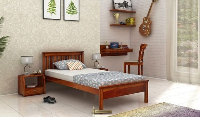 Giường gỗ tràm 1m x 2m