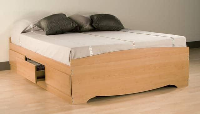 Giường ngủ có ngăn kéo MDF
