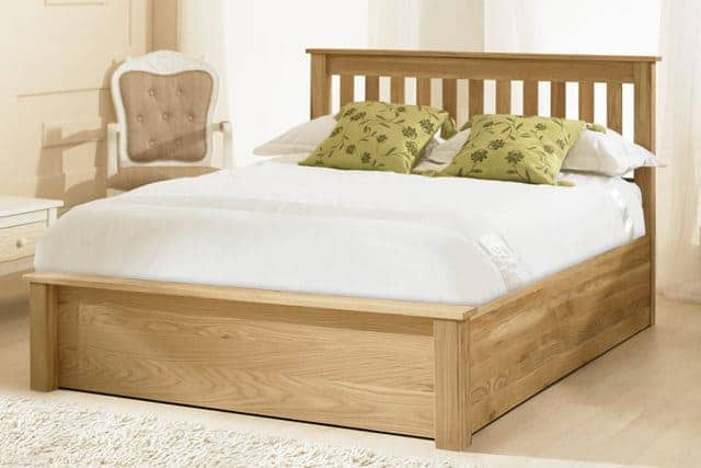 Giường ngủ dạng hộp gỗ MDF