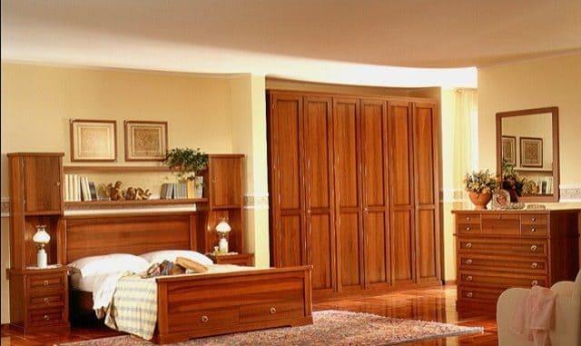 Giường ngủ gỗ xoan đào 2m