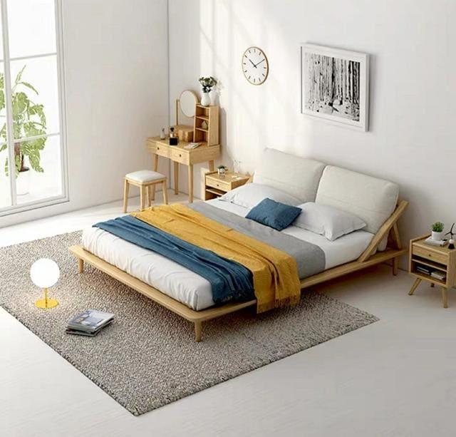 Giường ngủ kiểu Nhật gỗ MDF