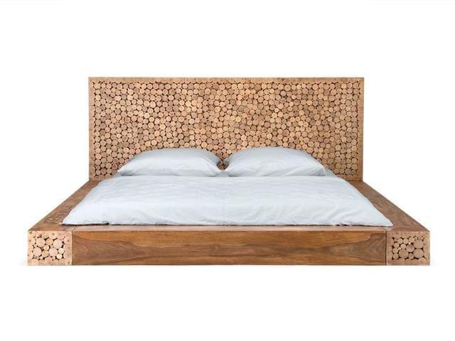 Giường ngủ kiểu Nhật tối giản