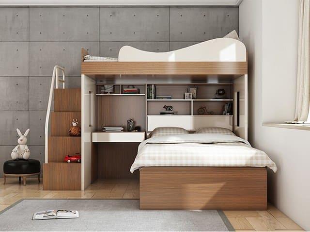 Giường tầng gỗ MDF
