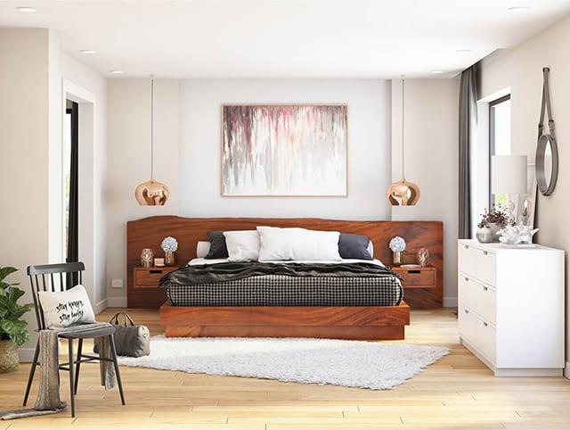 Giường thấp kiểu Nhật