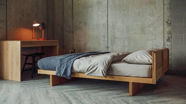 Giường thấp sàn giá rẻ cực đơn giản
