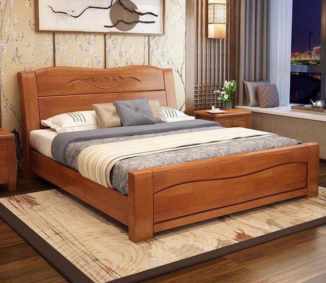 giường ngủ đẹp gỗ tự nhiên