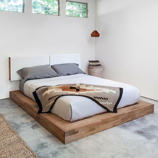 Mẫu giường phản bệt đơn giản