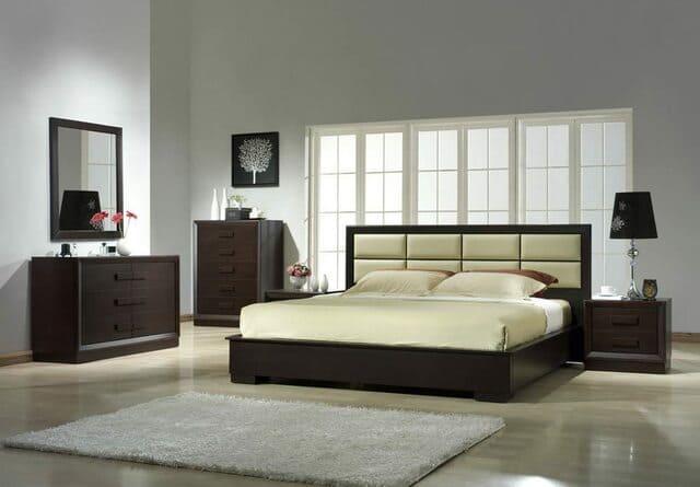 giường gỗ công nghiệp