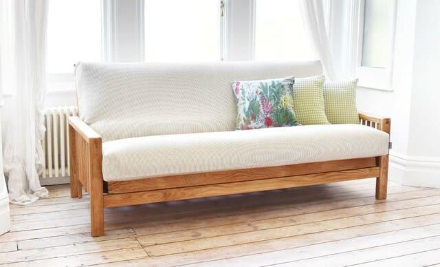 ghế kéo thành giường bằng gỗ