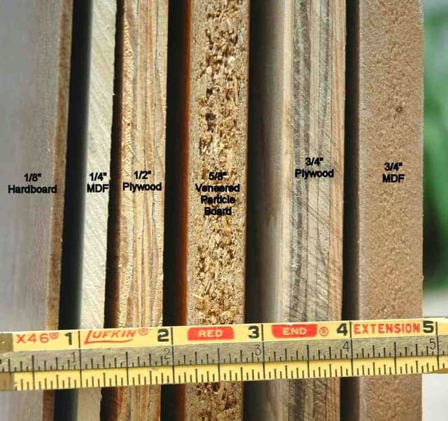 Phân biệt các loại gỗ công nghiệp