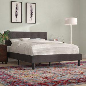 Sản phẩm giường ngủ bọc da BN04