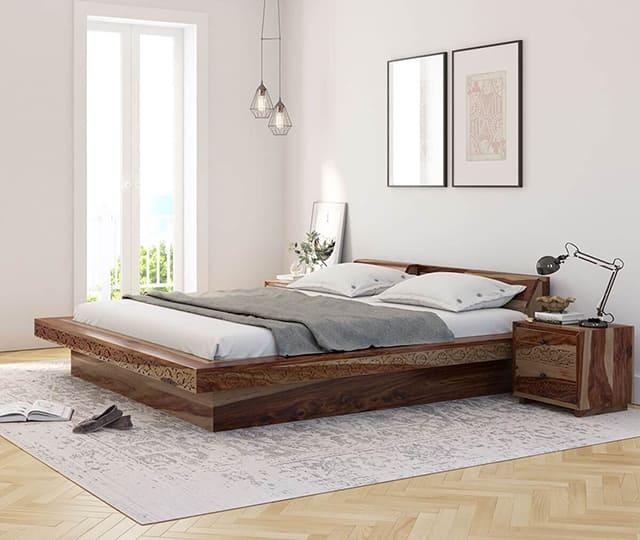 giường ngủ thấp