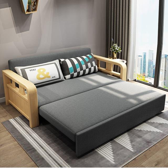 ghế sofa kiêm giường ngủ - ảnh 2