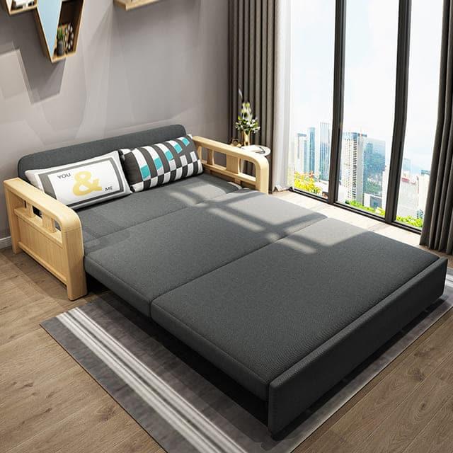 Ghế sofa kiêm giường ngủ - ảnh 3