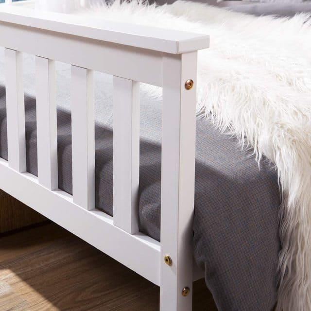giường đơn gỗ thông giá rẻ chỉ với 1 triệu - ảnh 4
