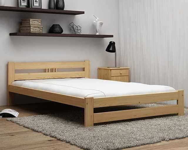 giường gỗ keo đơn giản và hiện đại giá 2 triệu