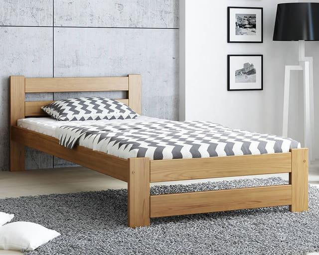 giường gỗ sồi 1m x 2m