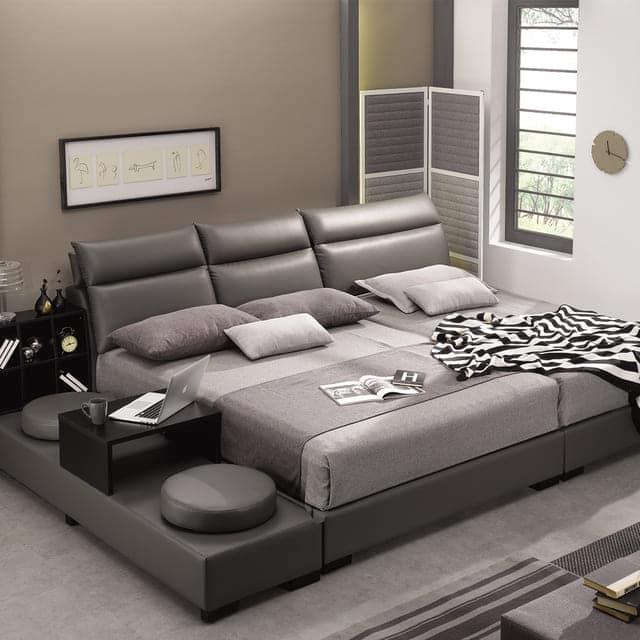Giường đôi kiểu Hàn Quốc