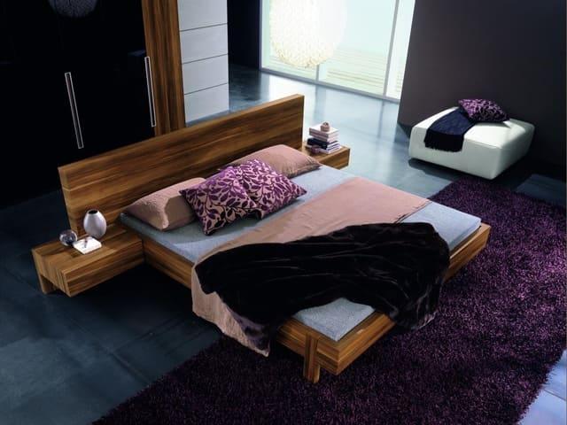 bố trí giường đôi