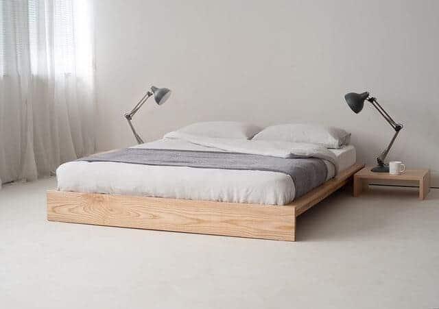 Giường đôi phong cách nhật bản