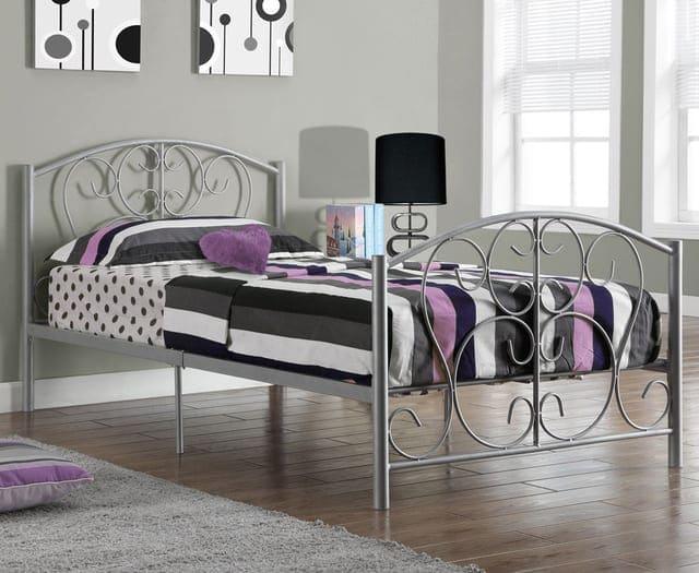 Giường đơn bằng inox
