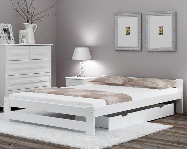 Giường gỗ 1m4 có ngăn kéo