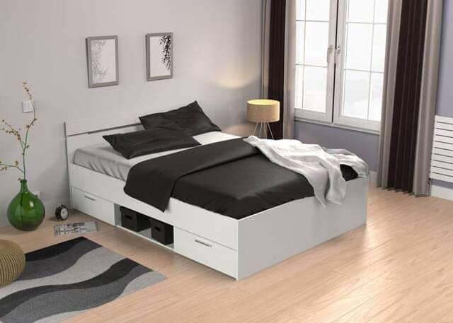 giường 1m4 gỗ công nghiệp