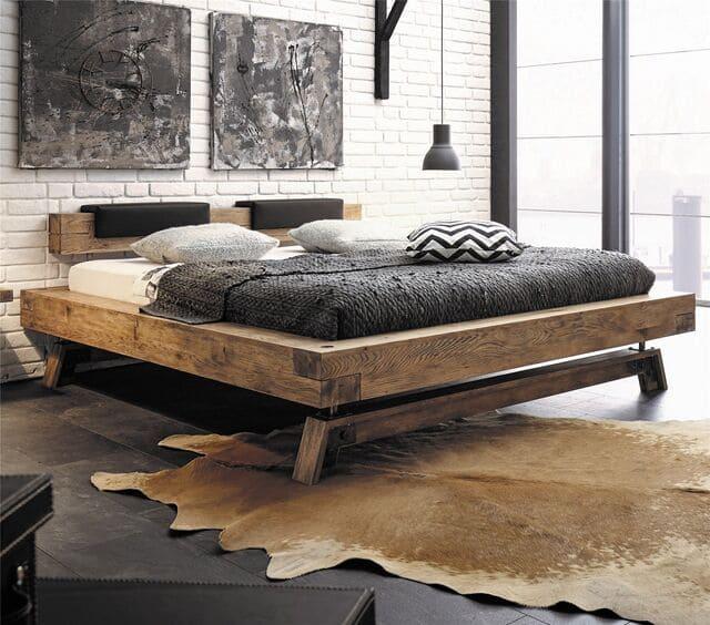 Giường 1m4x2m phong cách cổ điển