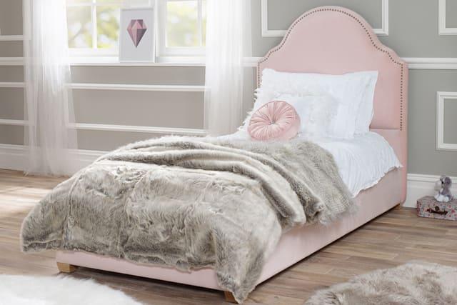Giường ngủ đơn cho bé phong cách tân cổ điển
