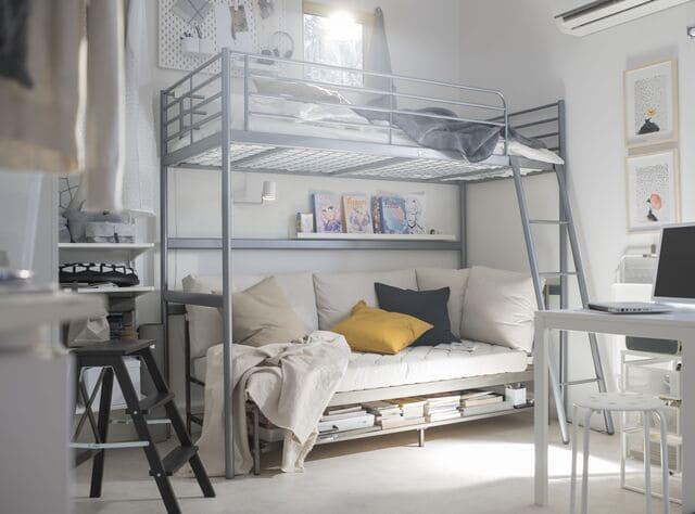 Giường tầng thông minh bằng inox