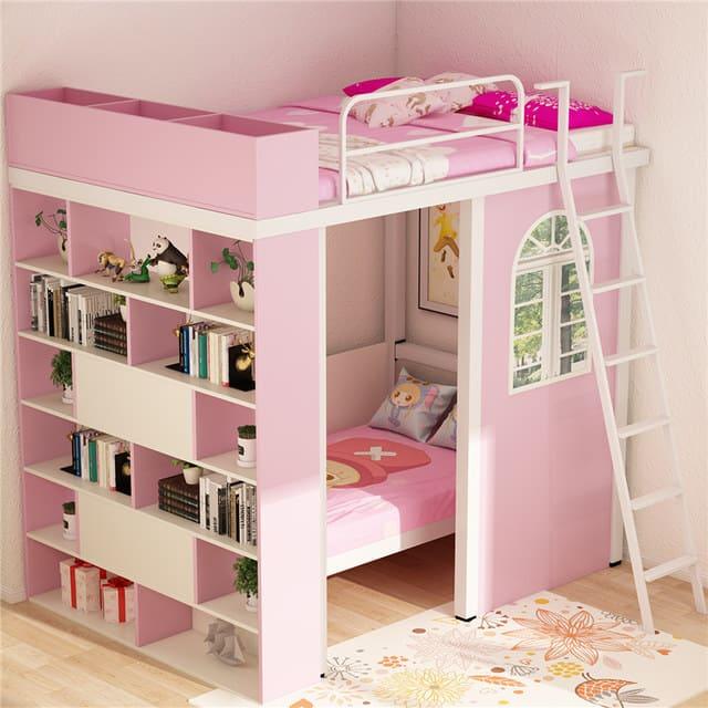 Giường tầng thông minh cho bé gái
