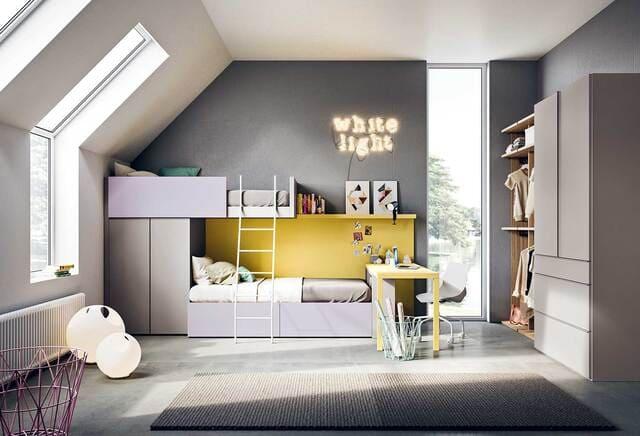 Giường tầng thông minh cho bé trai