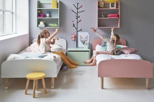 Vị trí đặt giường đơn cho bé gái