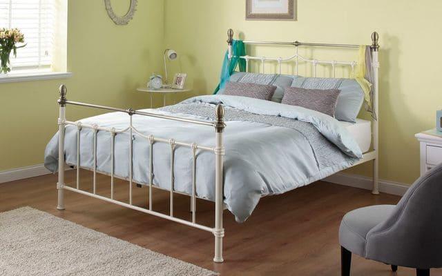 giường đơn inox