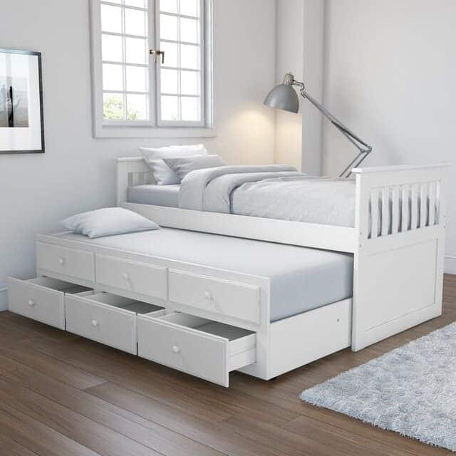 Giường có có hộc kéo