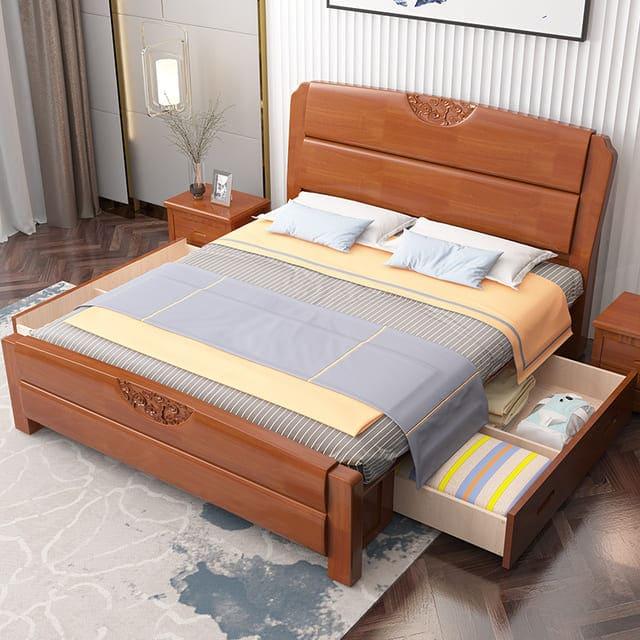 Giường có hộc kéo cho người lớn