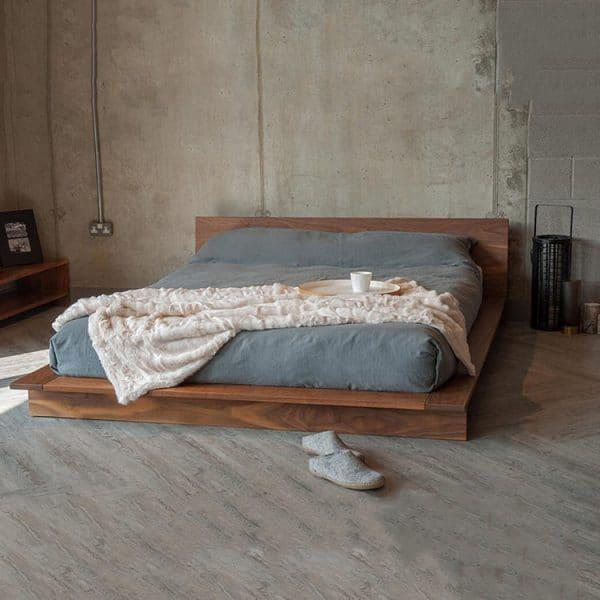 Giường kiểu Nhật gỗ lim GB03