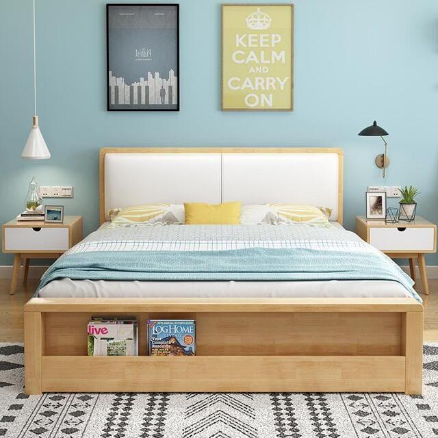 Giường ngủ có hộc kéo Hàn Quốc