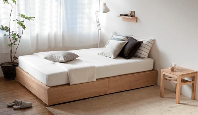 Giường ngủ có hộc kéo cho người độc thân