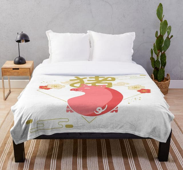 Hướng kê giường ngủ tuổi quý hợi