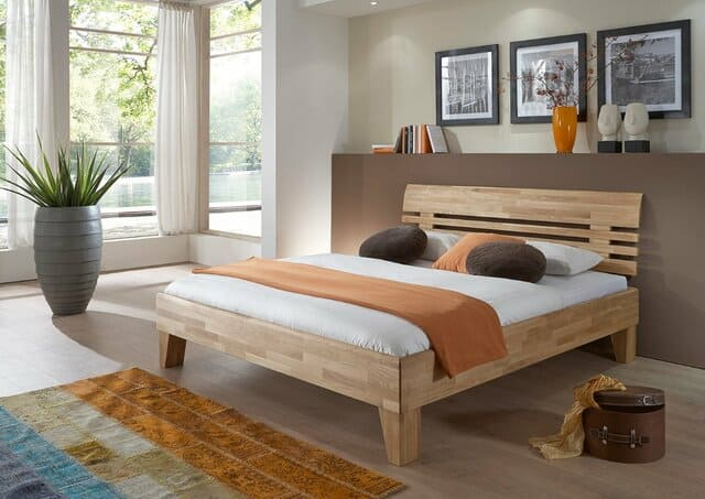 Kê giường ngủ theo phong thủy căn đều hai bên
