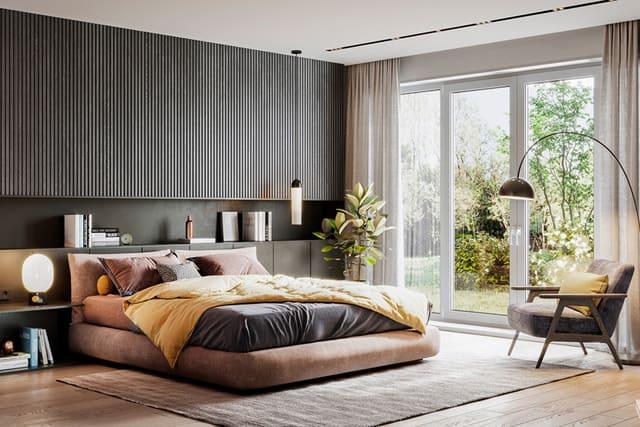 Một số hướng tốt để đặt giường ngủ