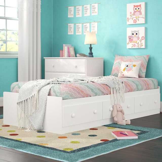 Giường bệt có ngăn kéo cho trẻ em