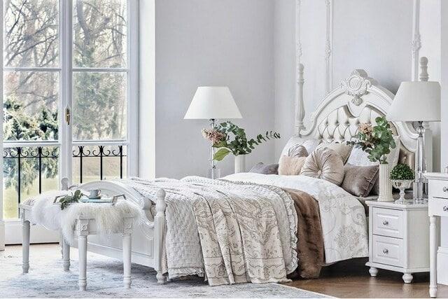 Giường công chúa phong cách châu Âu