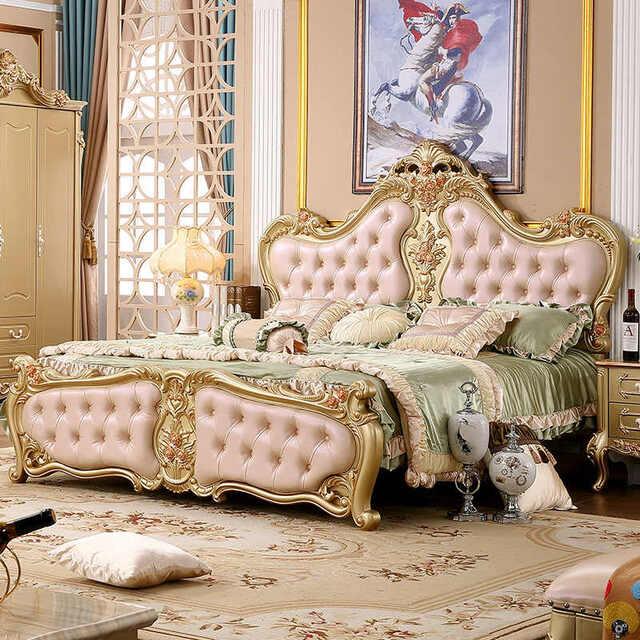 Mẫu giường ngủ hoàng gia cho con gái